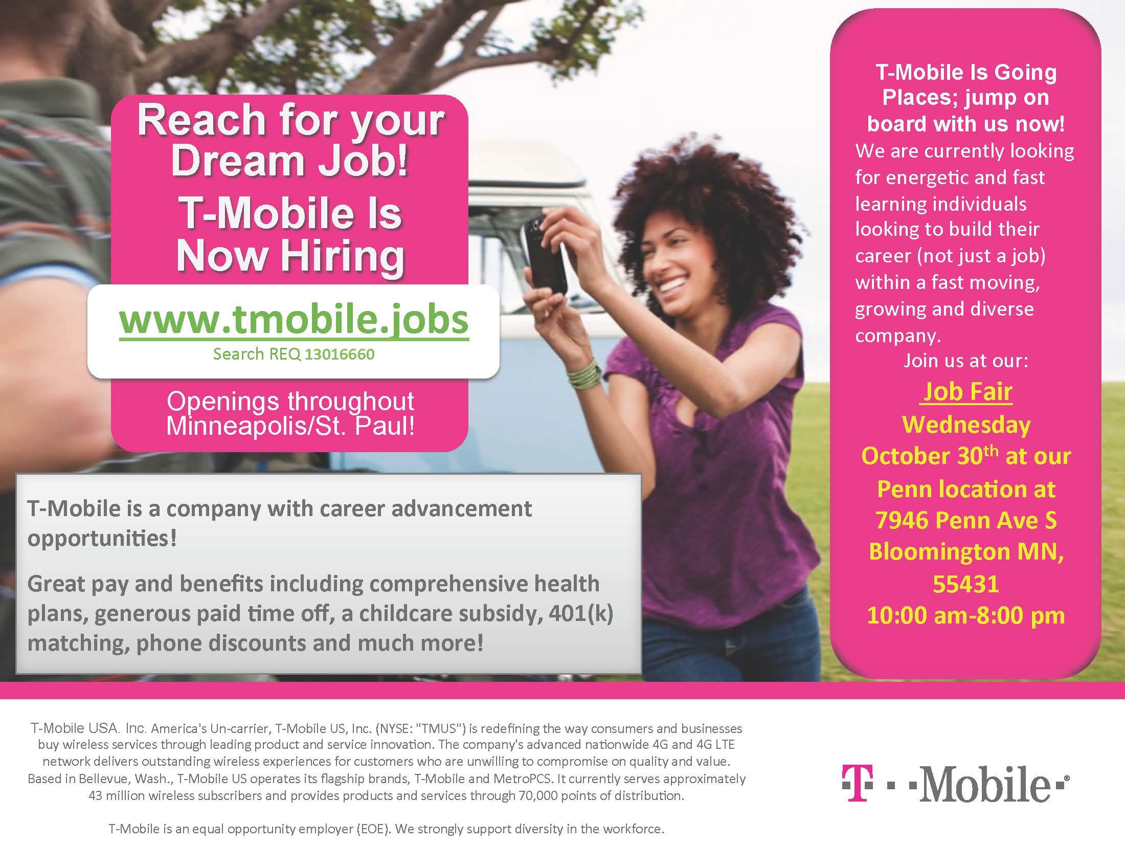 TMobile jobs - gotojobs